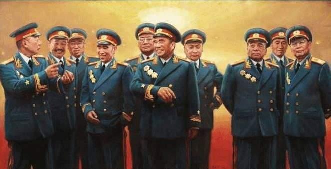 抗战初期,十大元帅分别担任什么职务?