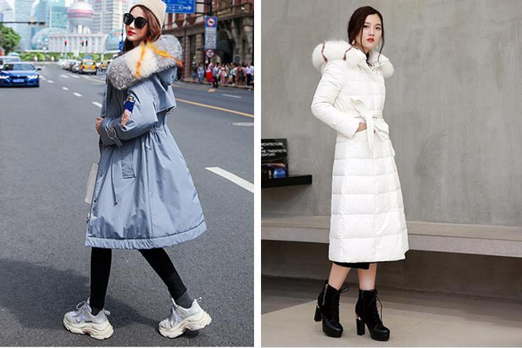 原創             冬季紙片妹羽絨服穿搭有妙招,擺脫平板身穿出時髦架式 形象穿搭 第12張