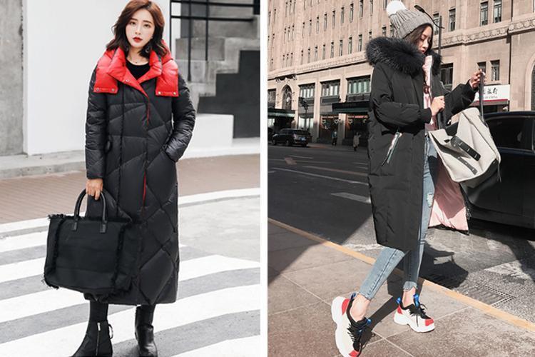 原創             冬季紙片妹羽絨服穿搭有妙招,擺脫平板身穿出時髦架式 形象穿搭 第19張