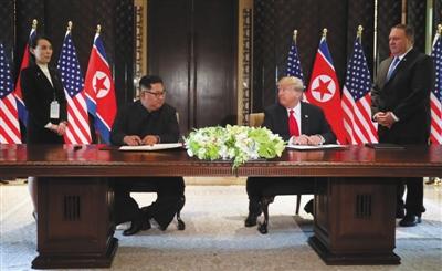 """第二次""""特金会""""有望推动半岛无核化"""