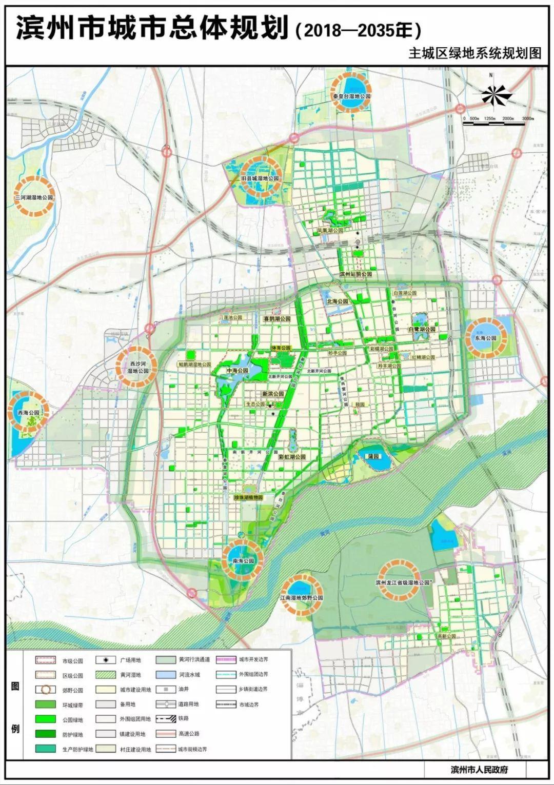 滨州市区人口_最新最全 滨州市城市总体规划出炉 2018 2035年