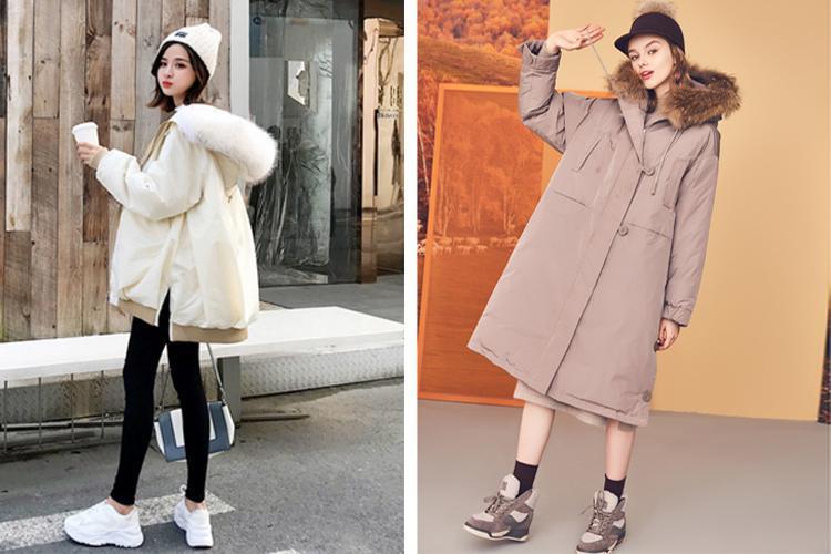 原創             冬季紙片妹羽絨服穿搭有妙招,擺脫平板身穿出時髦架式 形象穿搭 第11張