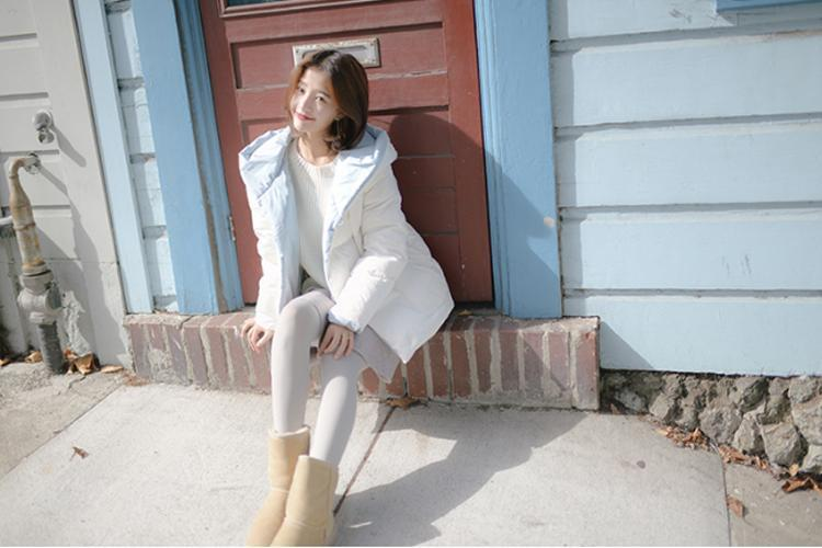 原創             冬季紙片妹羽絨服穿搭有妙招,擺脫平板身穿出時髦架式 形象穿搭 第2張