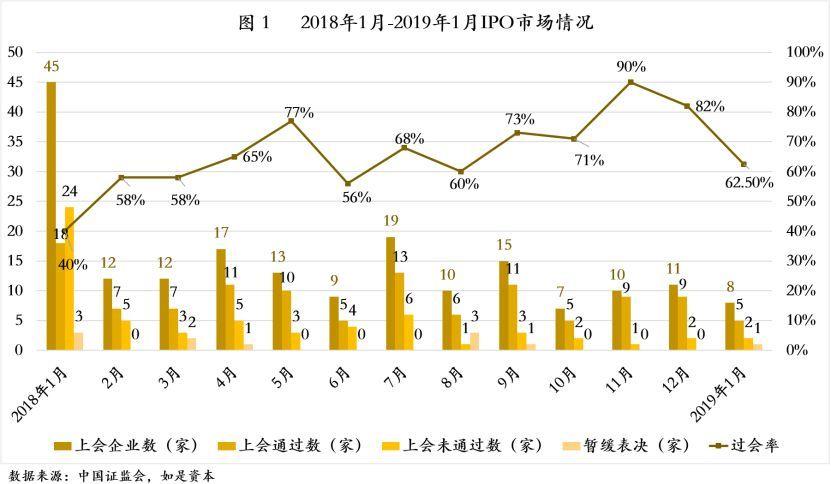 中国式IPO月报:2019年1月A股IPO及被否情况全梳理