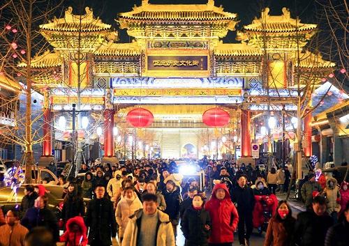 春节黄金周休闲消费呈多样化:零售餐饮破万亿 文化活动受青睐