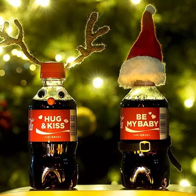 可口可乐在日本变换手法炫彩营销
