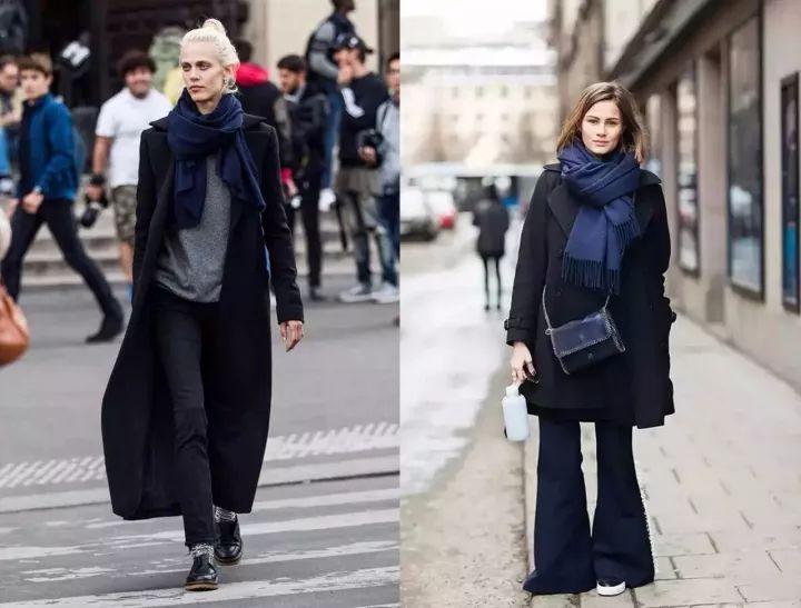 什麼顏色的大衣就搭什麼圍巾,這才是最實用的穿搭法! 形象穿搭 第4張