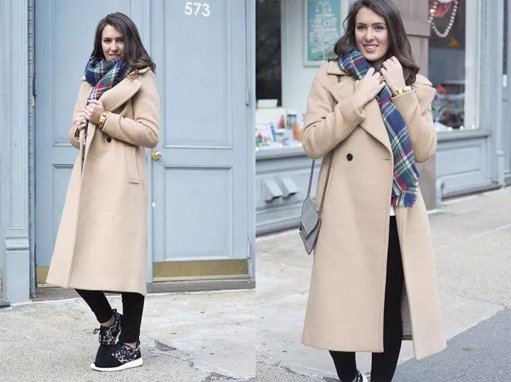 什麼顏色的大衣就搭什麼圍巾,這才是最實用的穿搭法! 形象穿搭 第47張