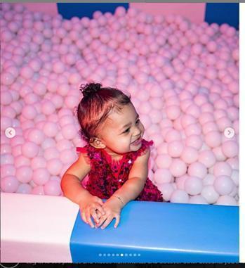 超級網紅這樣給她女兒辦1歲生日趴,短期內沒人能超越吧?