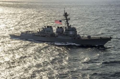 挑衅!美国两艘军舰又擅闯我领海 中方抗议