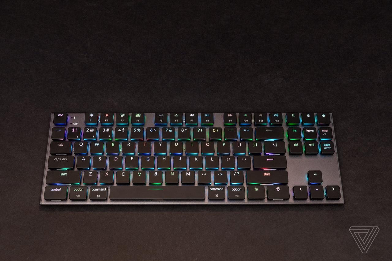这款超薄的Mac无线机械键盘几乎可以正常使用
