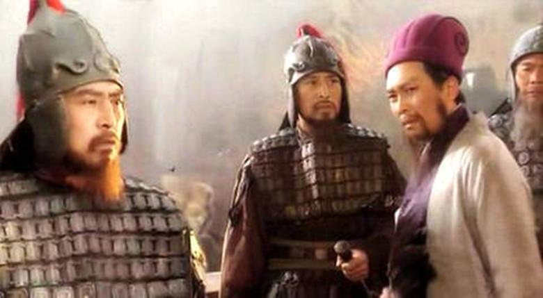 图)老版《三国演义》剧照,孔明与魏延图片