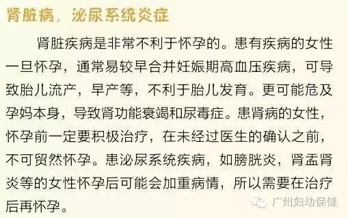 【当孕期遇上春节】(十五)备孕篇:孕前应当治愈或有效控制这几种疾病
