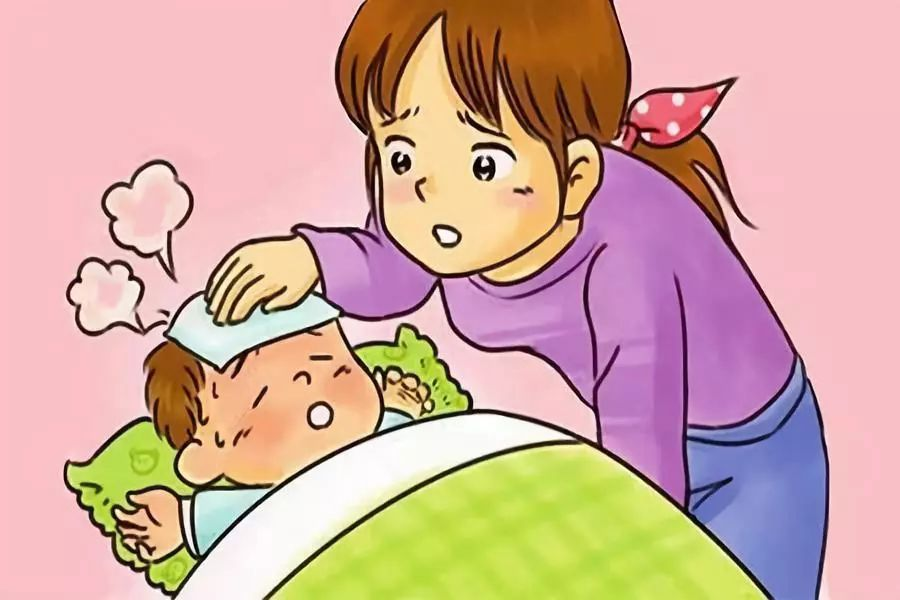 冬季儿童高烧不退时可以交替来用药