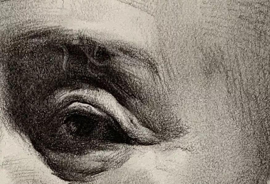 第三二四集 朱传奇教你画强光源的利落寸头男老年素描