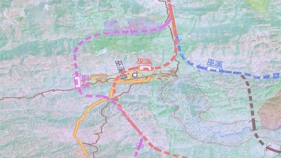 巫溪城区未来规划图
