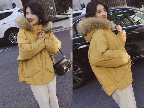 绚丽时尚网 滚动:冬季穿衣当然不能少了棉衣外套啦,时尚又好搭配