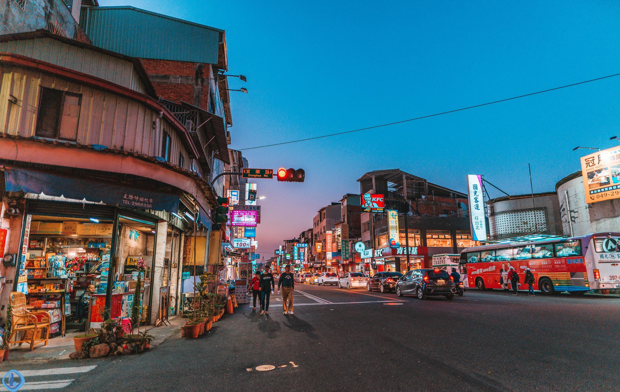 南投埔里小镇,台湾宝岛的地理中心点