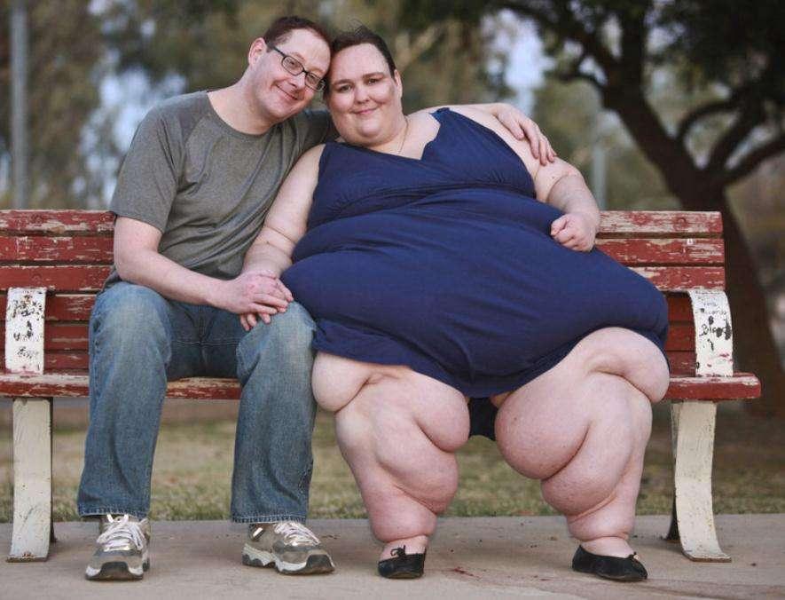 美国体重超280公斤女子计划继续增肥