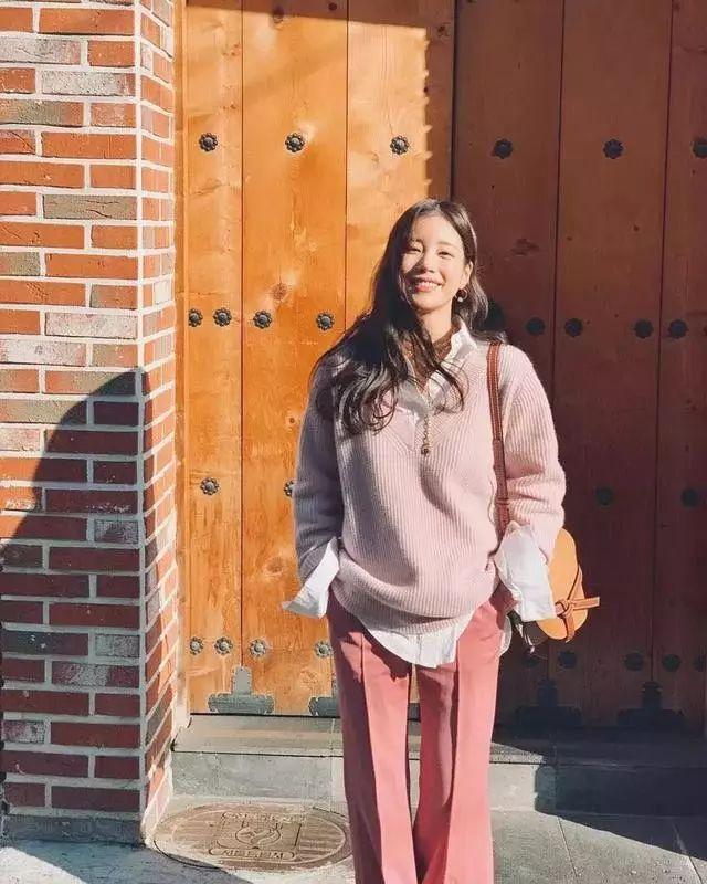 开春怎么穿?3个韩国小姐姐给你灵感!(图12)