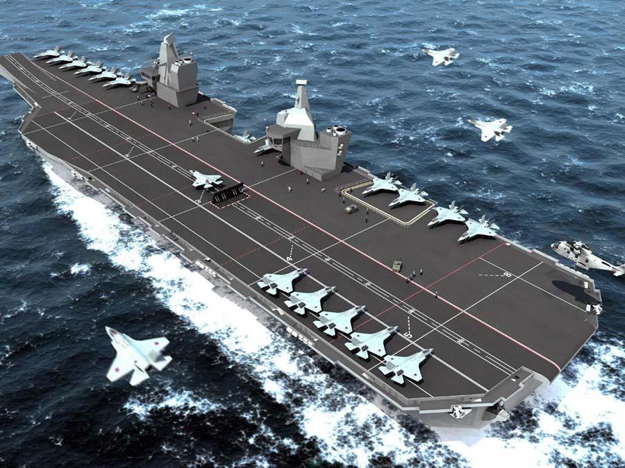 排水量超过辽宁号,全球排名第二超级航母,为何舰载机还要外购!