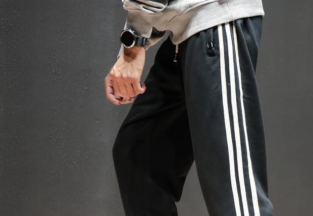刺绣哈伦休闲裤帅气显腿型