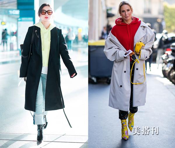 原创卫衣如何正确搭配外套?这几套穿搭激发你令人羡慕的时尚感