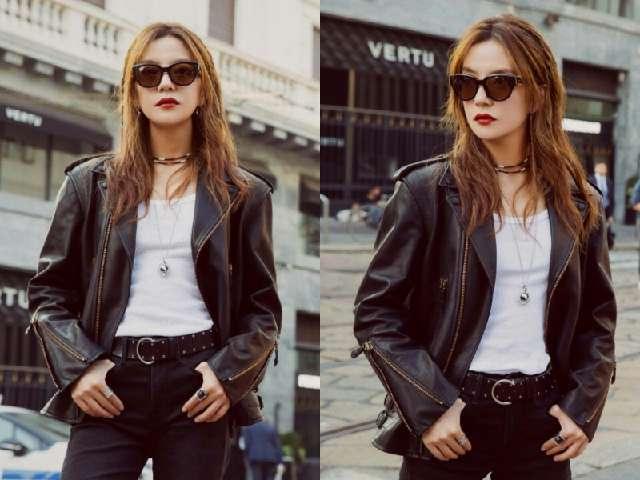 43岁赵薇已变身成为时尚达人,这种穿搭都能驾驭,真的是下功夫了