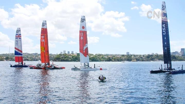 AI合成主播?国际帆船大奖赛悉尼站澳大利亚夺冠中国第四