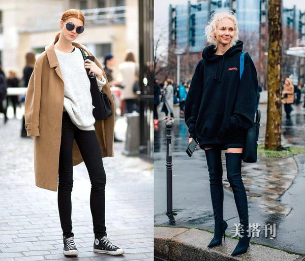 优雅时尚网|原创早春扬长避短穿衣法则,显瘦显高才是搭配王道