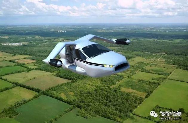 吉利飞行汽车10月上市陆空两用带你飞价格19万美元