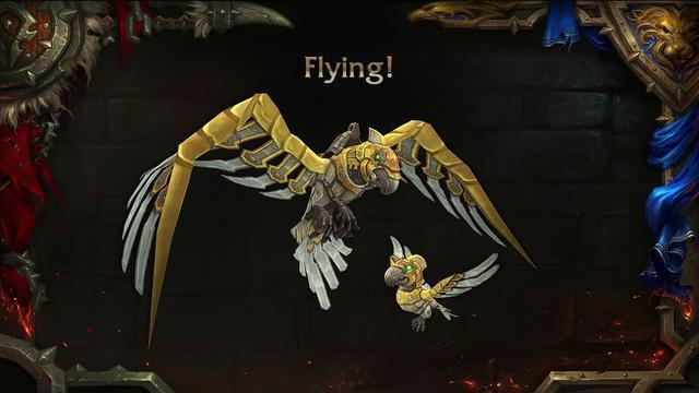 魔兽世界815:新战斗宠物机械鹦鹉入手指南贸易大王被耍了