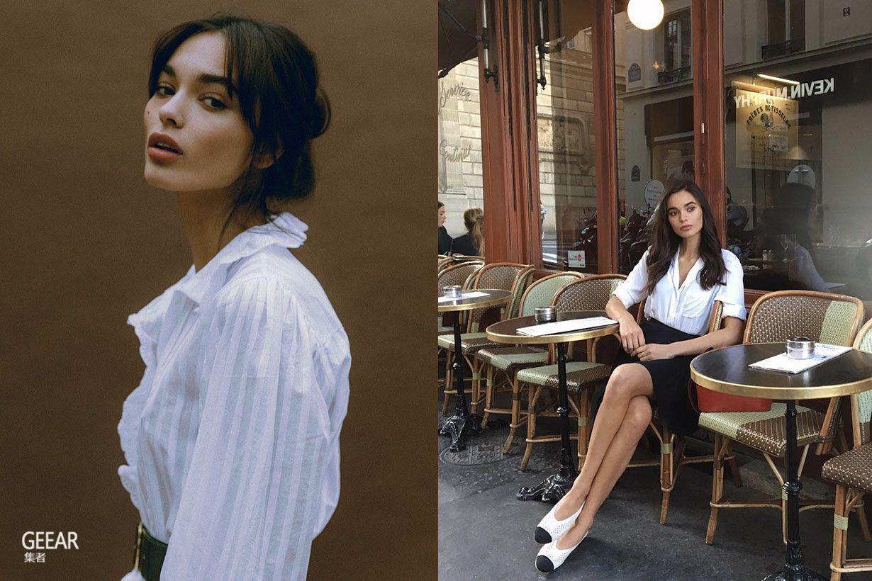 [热点]这位法国时尚博主总能把衬衫穿出不经意的慵懒仙气!