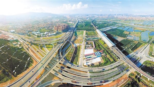 江门甘棠路建设规划图