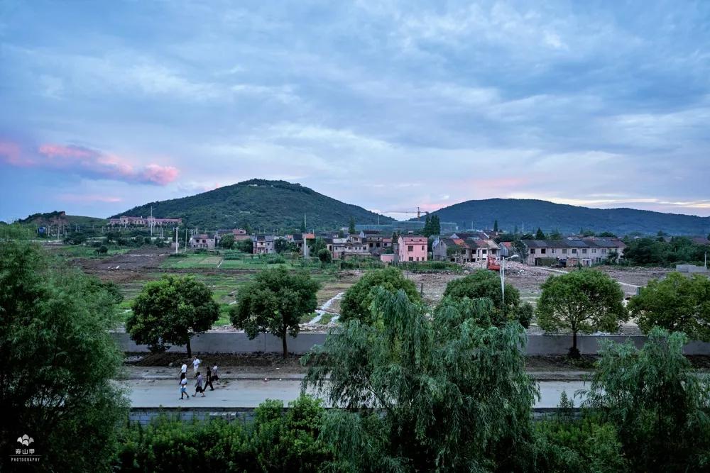 2008-2018,十年定点记录窗外的风景,许舍村,小山村,大