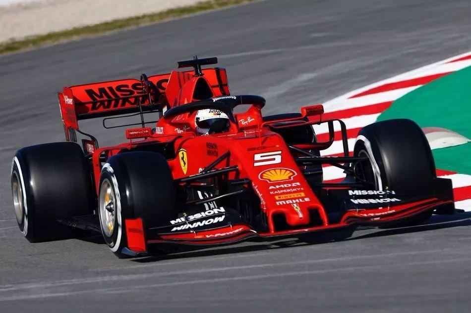 F1赛车_F1巴塞罗那试车首日:维特尔最快 法拉利阵营强势_赛车