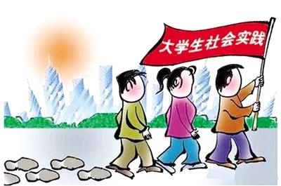 """寒假期间,深入了解乡情成了一些外地学子的""""功课"""""""