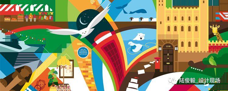 这些获奖的插画是基于伦敦的故事和传说
