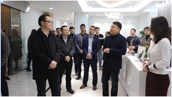 重庆市副市长刘桂平莅临金窝窝调研