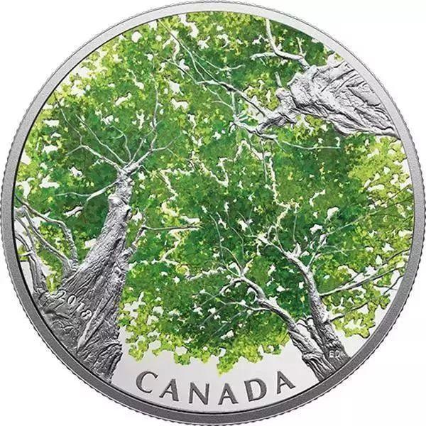 真漂亮!2018年发行的异国纪念币欣赏