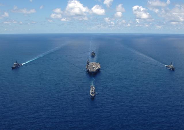 现代战争体系下,论如何在远中近三个层面攻击航母战斗群_敌方