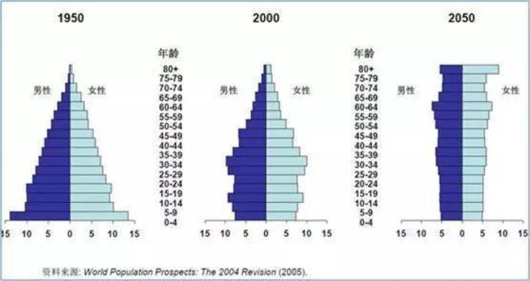 我国老龄人口比例_为什么90后开始秃顶了,买房还是难