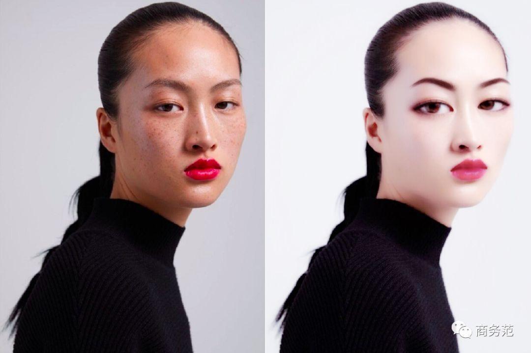 """嫌zara选的中国女模特太丑,大概是习惯了""""网红滤镜""""审美."""