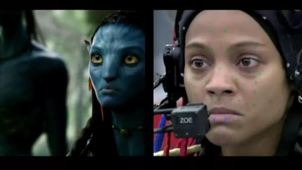娱乐 正文  在实际拍摄中运用表情捕捉技术,正是电影特效的一大转折点图片