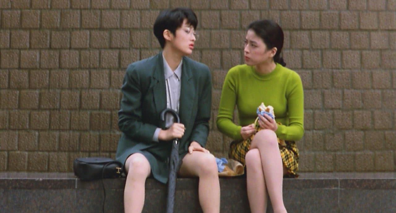 1991年,张敏与刘德华的合作,女神和男神都有了,她更出色!