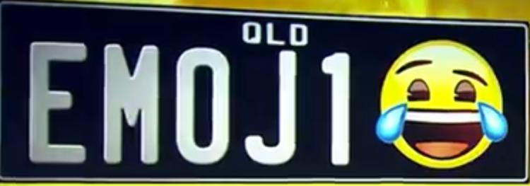 澳洲昆士兰市将允许车牌上出现表情符号