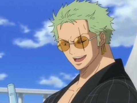 动漫 正文  海贼王中角色头发颜色众多,甚至连绿色都很多,提到绿头发图片