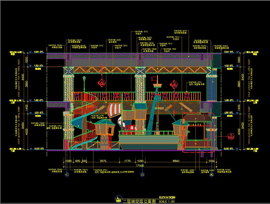 幼儿园深化设计、幼儿园施工图深化案例!图纸超精细、超复杂!
