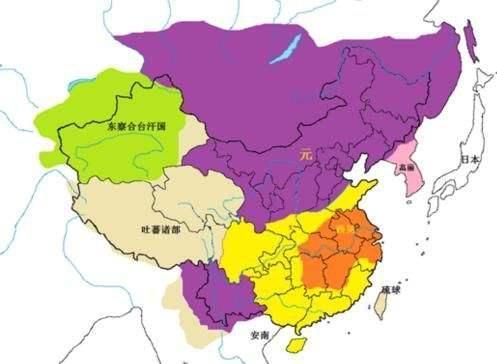 明朝疆域变化情况是怎么样的 几张图看完大明276年版图变迁图片