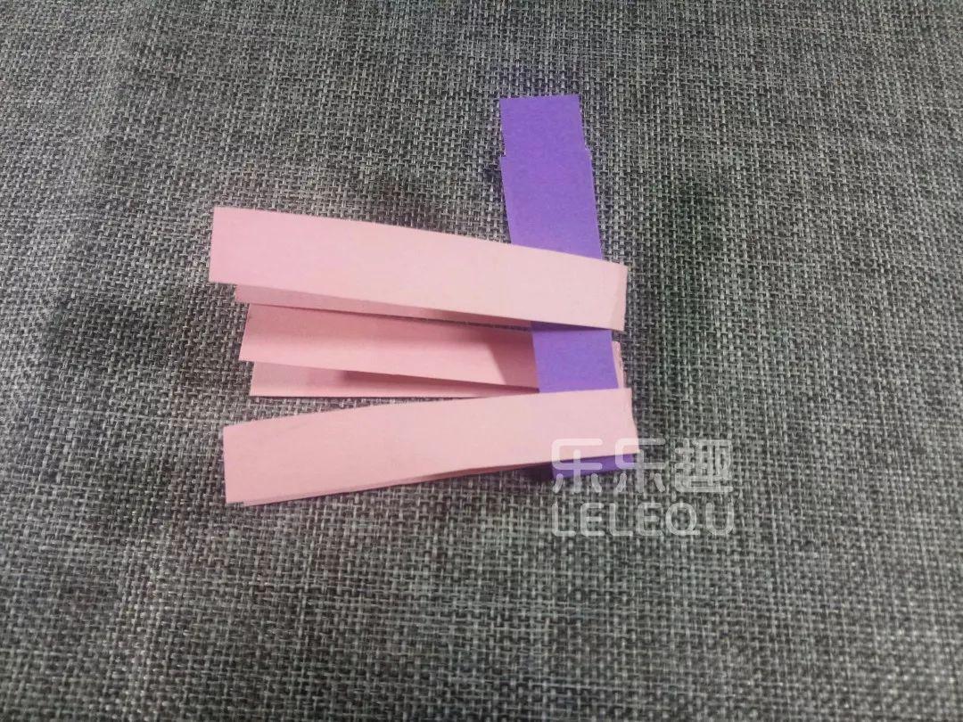 创意手工丨彩色编织小鱼_纸条